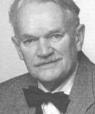 Black and white photo portrait of Niels Erik Bank-Mikkelsen on his 75th birthday